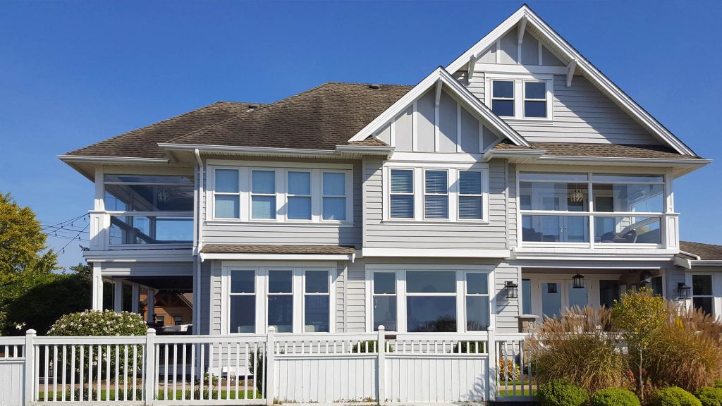 siding installation for house